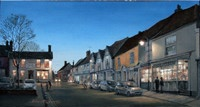 John Roberts - Dusk on Market Hill