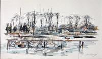 John Roberts - Bass Dock in Woodbridge