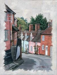 John Roberts - View down Angel Lane