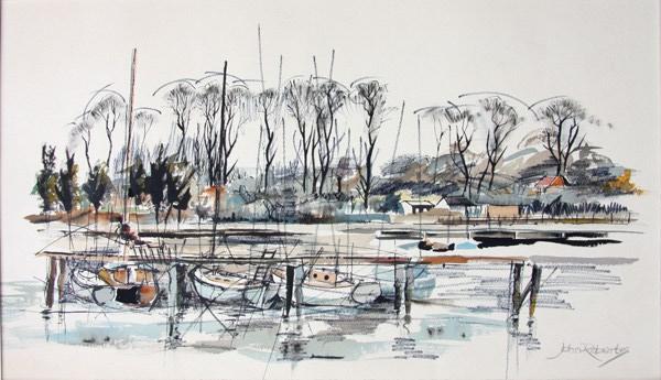 John Roberts – Bass Dock in Woodbridge