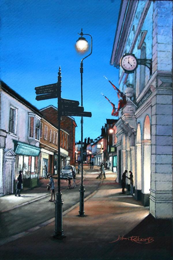 John Roberts - Woodbridge Lamplight