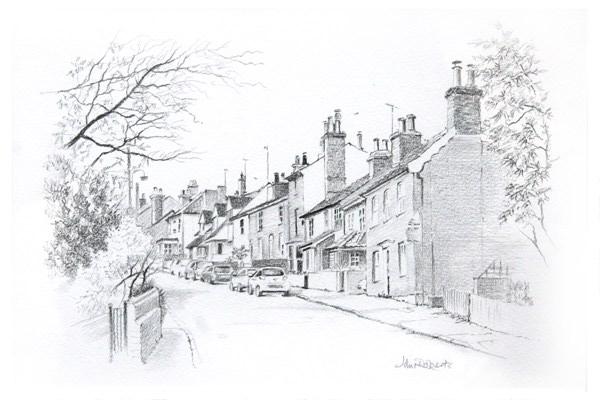 John Roberts - View of Drybridge Hill