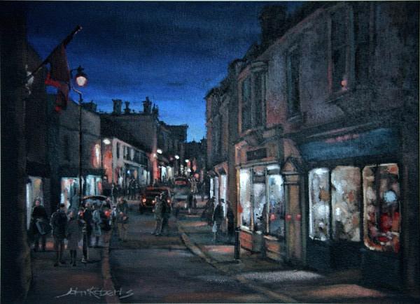 John Roberts - Evening shoppers