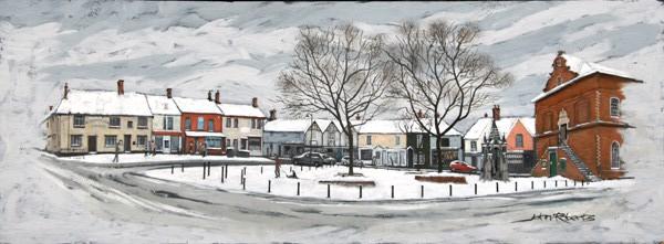 John Roberts - Snow on Market Hill