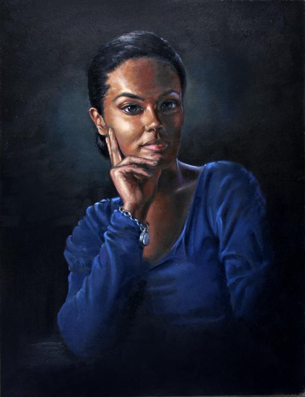 John Roberts - Portrait of Freema