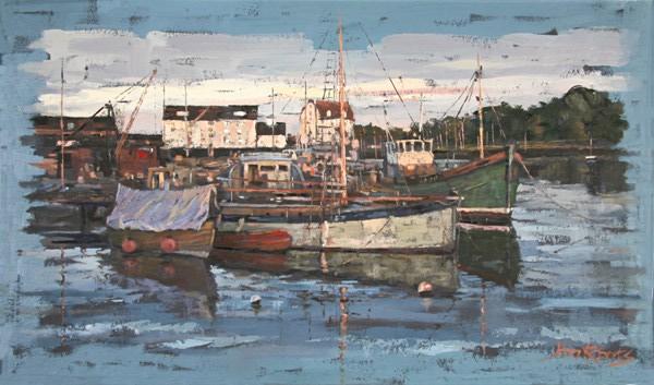 John Roberts - Autumn in Bass Dock