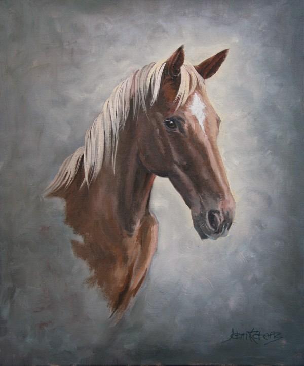 John Roberts - Horse Painting