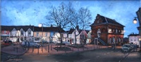 John Roberts - Market Hill at twilight