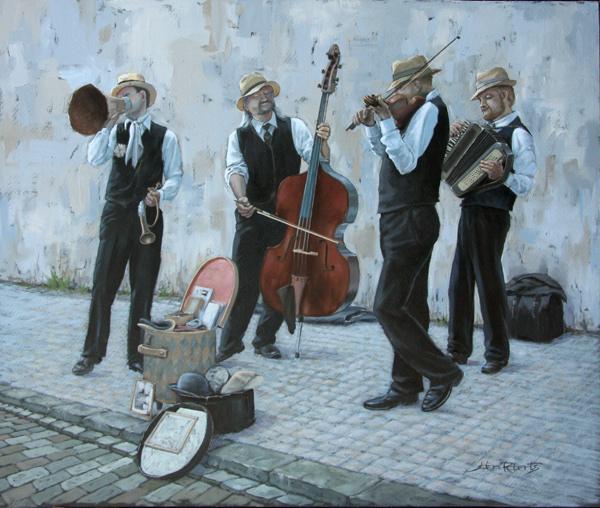John Roberts - Street Musicians