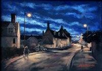 John Roberts - Quayside at dusk