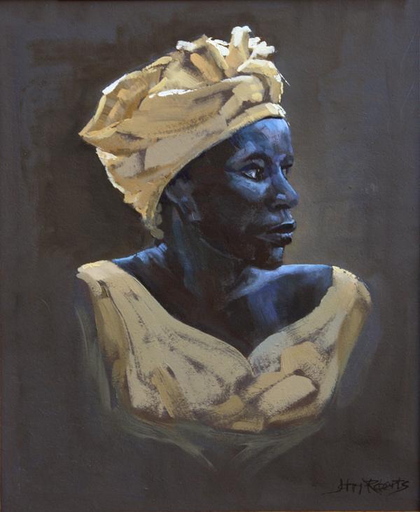 John Roberts - Woman with Turban
