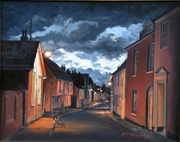 John Roberts - Evening in Cumberland Street