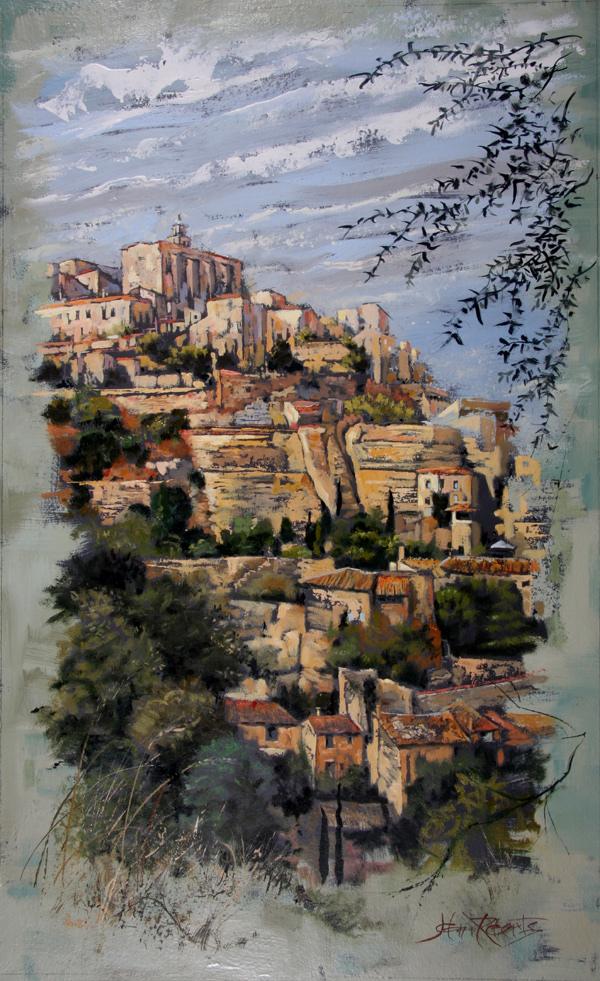 John Roberts - Gordes in Provence
