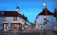 John Roberts - Cross corner at night